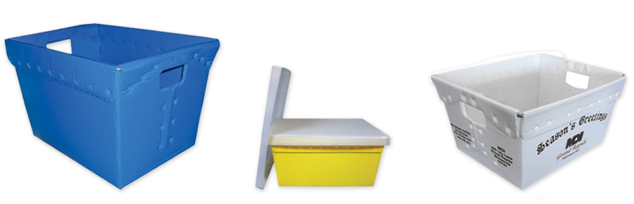 Corrugated Plastic Totes by MDI